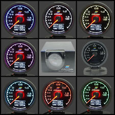 Greddy Boost Gauge 62mm Style Digital Analog 7 Colour Multi D/A bar HKS 2.5