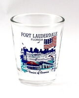 FORT LAUDERDALE FLORIDA GREAT AMERICAN CITIES COLLECTION SHOT GLASS SHOTGLASS