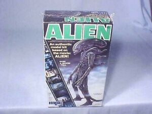 ORIGINAL ISSUE MPC ALIEN MODEL KIT No. 1-1961 NOS FACTORY SEALED 1979 MINTY