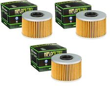 3 Pack Oil Filters TRX420 TRX 420 Fourtrax Rancher AT Pioneer SXS1000 2016