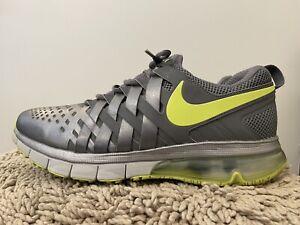 Nike Fingertrap Max, Metallic Grey, Mens Training Shoes, 644673-070, Size 13