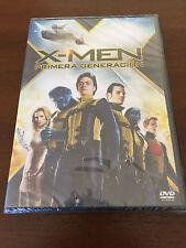 X MEN X-MEN PRIMERA GENERACIÓN 1 DVD MARVEL 126 MIN NEW SEALED NUEVO PRECINTADO