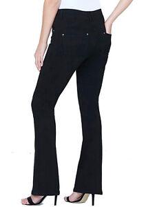 SimplyBe Petite Shape & Sculpt High Waist Bootcut Jeans Sz10-32 RRP £42 LJJan6-1