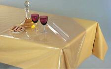 Meterware Tischdecke Schutz abwaschbar transparent farblos deutsche Qualität