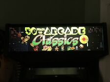 Mame Arcade Marquee Classics Multicade Emulator Translight Header Sign Backlit