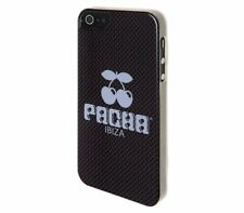 3x Pacha Ibiza Cherry Logo Carbon Hard mobiele telefoon hoesje Apple iPhone 5 5S