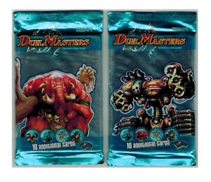 Duel Masters DM-01 Lot 2 Booster Packs Cards Wizards