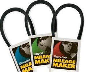 Mileage Maker by Goodyear 537K6MK Multi V-Groove Belt