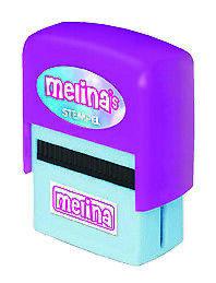 NEON Kinderstempel mit Namen - Melina - fast alle Namen im Angebot - Stempel