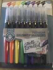 8 Classic Crafter's ClosetPremium Brush Tip Markers Artskills