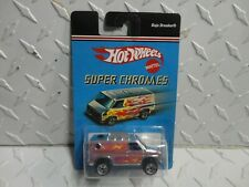 Hot Wheels Super Chromes Cromo Baja Interruttore Furgone