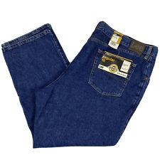 NEW LEE Men's Big & Tall 50x30 Regular Fit Straight Leg Jeans Dark Wash Denim