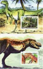 Dinosaurs - 2002 Set of 2 Souvenir Sheets - 3A-281
