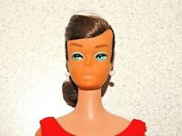 Barbie:  VINTAGE Brunette SWIRL PONYTAIL BARBIE Doll!