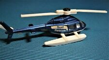Corgi Juniors 63 Helicopter Jet Ranger Surf Rescue. 1978. NOS