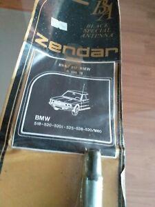 VINTAGE Super rare ZENDAR BMW E12 Radio BSA BLACK SPECIAL ANTENNA NOS NEW