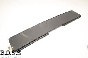 04-09 Cadillac XLR Top Tonneau Cover Trim Flap Used Black 170012102