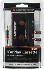 New Monster iCarPlay 800 Cassette Adapter - iPod, iPhone, Android