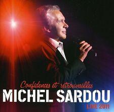 Confidences Et Retrouvailles Live 2011 - Michel Sardou (2011, CD NEUF)