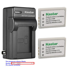 Kastar Battery Wall Charger for Olympus Li-80B Battery Olympus Li-80C Charger