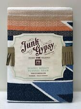 NEW Pottery Barn TEEN Junk Gypsy Desert Sunset Flannel STANDARD Sham