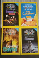4 OF LOT Nonfiction READERS Physical & Earth SCIENCE National Geographic EXPLORE