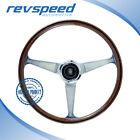 NARDI Italy Anni '60 380mm Steering Wheel Mahogany Wood With Glossy Spokes