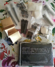 Lot of 42: Mary Kay Anniversary Mini Compacts Brushes Sponges & more!  FREE SHIP
