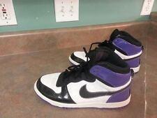 Men's NIKE LBC Sneakers 375948-101 Purple/White/Black Size 8.5