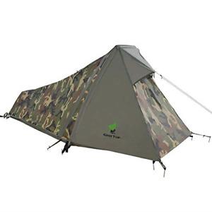GEERTOP 1-Person 3-4 Season Lightweight Backpacking Bivy Tent