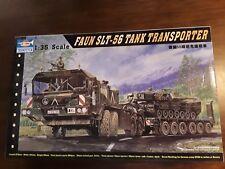 "REDUCED-2010 Trumpeter 1/35 Faun SLT-56 German ""Elephant"" Tank Transporter"