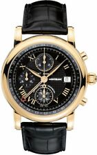 MODEL 103092 | BRAND NEW MONTBLANC STAR CHRONOGRAPH GMT SOLID GOLD MEN'S WATCH