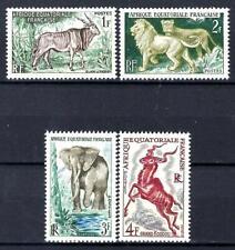 AEF Afrique Equatoriale Française 1957 Yvert n° 238 à 241 neuf ** luxe