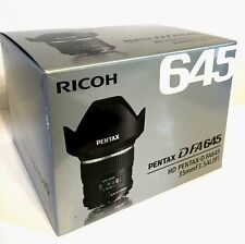 New HD PENTAX D FA645 35mm f3.5 AL (IF) Lens DFA645 for 645Z 645D Medium Format