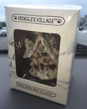 Boyds Kringle Village Ornament - Hoofer Hall Reindeer Dormitory 19702