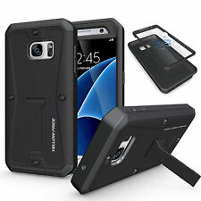 Armor Impact Heavy Duty Rugged Hybrid Hard Case Stand Cover Screen For Samsung