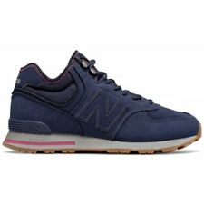 New Balance 574 Mid Suede Shoes Size 9.5 MH574RDE Pigment with Dragon Fruit