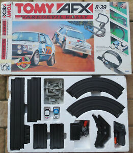 TOMY AFX - Complete Package Daredevil Rally With Peuget And VW Golf (SE216)