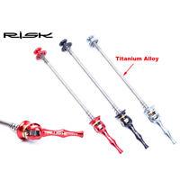 REDLAND Titanium MTB Bike QR skewer Quick release skewers 52g Front-rear 115-151