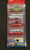 Nasidear 5 Pack Die Cast Metal Toy Cars Mini Auto Toy Trucks 1:64 Sealed