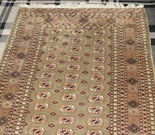 A quality hand made middle eastern rug 50in x 75.5in