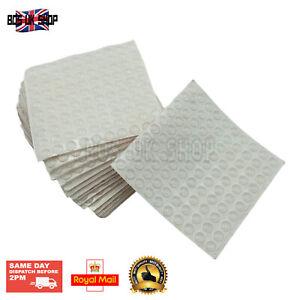 100Pcs 8mmx2.5mm Silicone Rubber Feet Tape Anti-Slip Anti Collision Sticky Pads