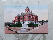 Vintage Mitchell Postcard: Los Angeles Court House, unposted