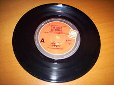 """STYX    """"THE BEST OF TIMES'     7 INCH 45  1980"""