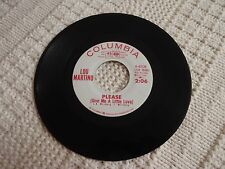 LOU MARTINO  PLEASE GIVE ME A LITTLE LOVE/SOMEONE TO WATCH OVER ME COLUMBIA M-