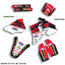 1996 1997 1998 1999 2000 2001 2002 CR 80 FACTORY : black / red decals graphics