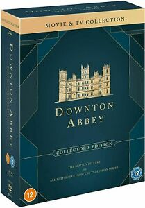 DOWNTON ABBEY - COMPLETE SERIES 1-6 & MOVIE COLLECTION (DVD) AS NEW