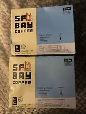 New listing 2 Boxes Of 24 ct. Bakery Blend San Francisco Bay Coffee OneCup For Keurig K-cup