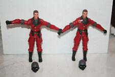 G.I. JOE COBRA Tomax & Xamot v4 2003 Crimson Guard Twins Action Figure