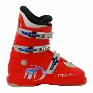 Chaussure de ski Junior Occasion Tecnica RJ Rouge - Qualité A - 37/23.5MP